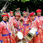 Musique de rue, Indian music, traditional music. Jaipur Maharaja Brass Band par Rahis Barthis. Carnaval de Tours Inde Rajasthan. Musique du monde. Word music.
