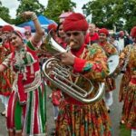 Jaipur Maharaja Brass Band - inde Rajasthani Brass band , fanfare du Rajasthan Fanfare indienne dembulation , Bollywood , Inde