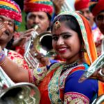 Jaipur Maharja Brass Band - Rajasthan, India Musique indienne , indian music , musique du Rajasthan, indian wedding band , musique de Bollywood spectacle de rue musical , déambulation de rue